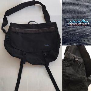 Other - Black messenger bag NWOT